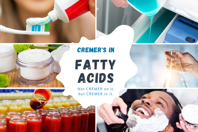 Not CREMER on it, but CREMER in it: Fatty Acids