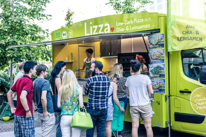 Lizza - From Foodtruck to Dough Factory