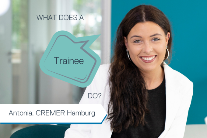 What does a trainee do at CREMER OLEO?